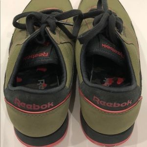 c7e97f8d242 Reebok Shoes - REEBOK CLASSIC ARMY GREEN   PINK SNEAKERS